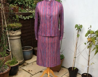 Vintage UK 14 US 10 EU 42 60s suit by English Lady
