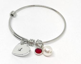 Little Girls Name Bracelet - Basket stuffers -  Kids Name Bracelets - Gifts for Little Girls - Child's Initial Jewelry - Personalized
