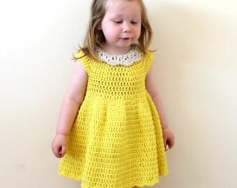 Crochet dress pattern girls dress pattern toddler dress crochet pattern crochet dress pattern crochet dress girls dress toddler dress dt1010fo