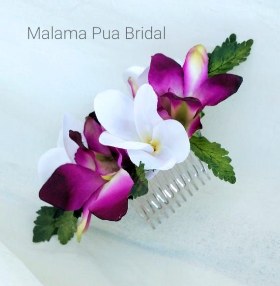 Tropical Wedding Hairstyles: Items Similar To TROPICAL HAIR COMB, Hair Accessory
