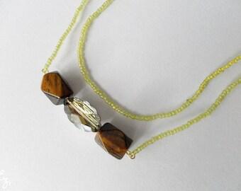 Rainforest Jewels Beaded Necklace