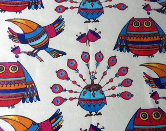 colorful Aztec pattern fabric