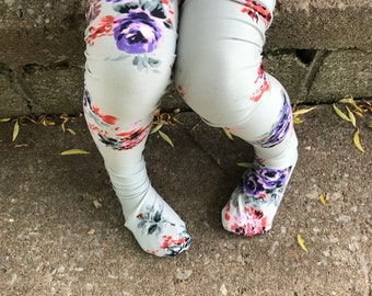 Fairy Garden Socks: crew, knee high, over the knee