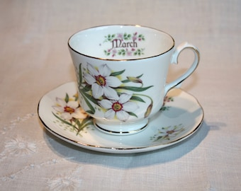 March Teacup Etsy