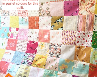 Custom Made Quilt, Bespoke Quilt, Made to order, Twin quilt, Throw quilt or Baby quilt