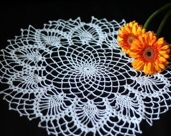 Wonderful table-doily or serviette (crochet doily) napkin