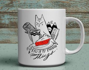 Few of my favorite things a twin peaks 11oz fan mug