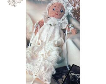 Crochet Pattern | Crochet Baby Doll | Crochet Doll Pattern | Amigurumi Doll Art | Baby Toy Pattern | Baby Doll Vintage Pattern