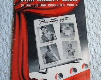 Vintage Pattern Book: Star Variety Show of Knitted and Crocheted Models, Star Book 21, 1942