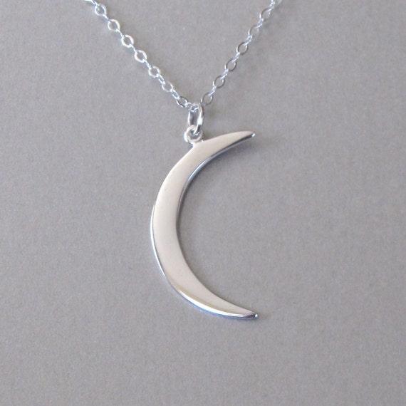 pendentif croissant de lune