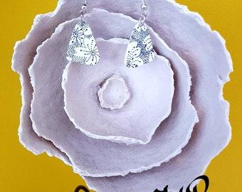 Shrink plastic earrings