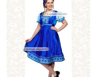 Russian Women Festive Dress Dates