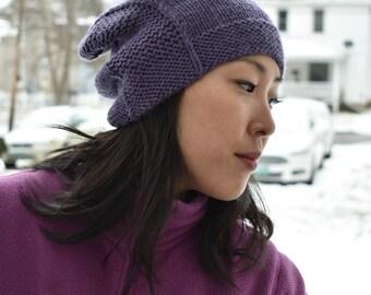 Rachel Hat - Amethyst