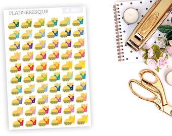 Fast Food Stickers - MI0058