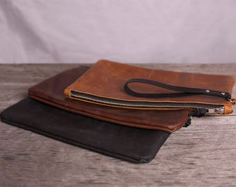 Leather Everyday Clutch