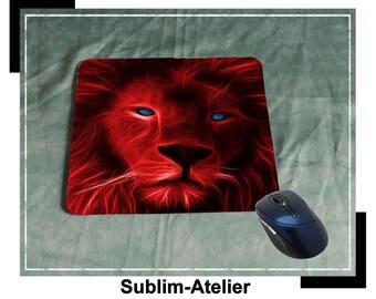 Tapis de souris tigre rouge