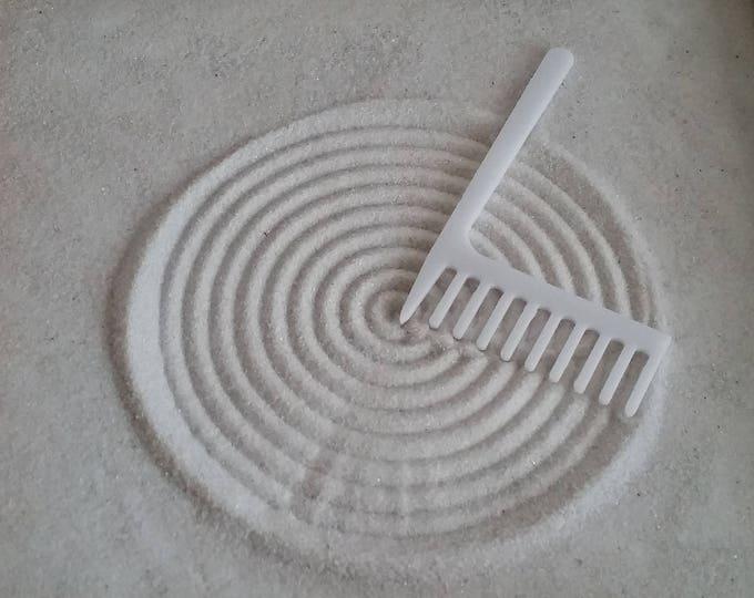 Zen Garden Rake, Large Concentric Circle Maker Rake, Sand Rake