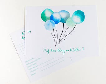 25 Balloon cards-on the way to Cloud 7