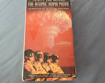 VHS - TRINITY and BEYOND: The Atomic Bomb Movie (Still Sealed)