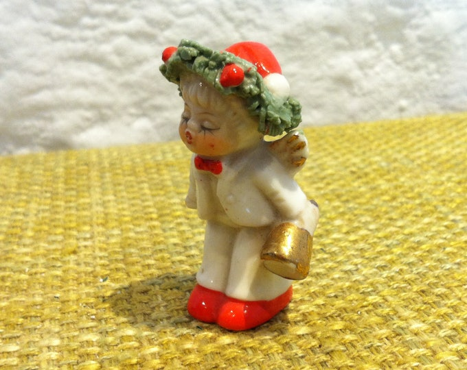 vintage beautiful porcelain angel decorative
