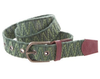 Saray Belt Green (G124: 110 cm)