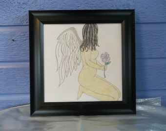 Flower Fae with Frame