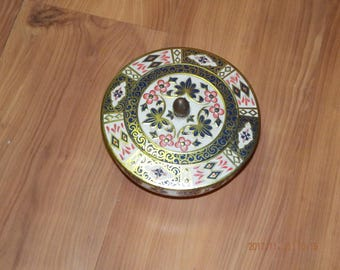 Rare Candy Dish & Lid in Old Imari by Royal Crown Derby