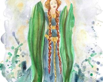 Lady Macbeth postcard
