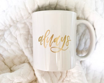 Always, Harry Potter Inspired Marriage/Wedding Mug
