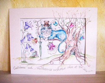 Mystery of the Cheshire Cat Alice in wonderland