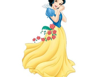 Snow White Cross Stitch Pattern, Disney Princess Cross Stitch Pattern, Modern Cross Stitch Chart, Pdf Format, Instant Download