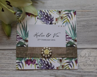 Exotic Orchid Card