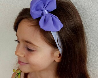 sale 2.5 instead of elastic bow 4.Bandeau Lavender/Purple one size