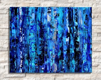 "Abstract Acrylic Painting on Canvas 16x20"", Wall decor, Contemporary art, Original art, Modern art, Handmade painting, Home decor, Wall art"