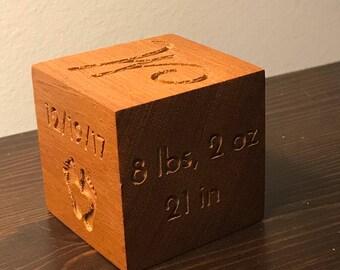 Custom Baby Alphabet Block