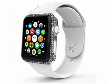 Apple Watch Series 3 Customized with Swarovksi Elements