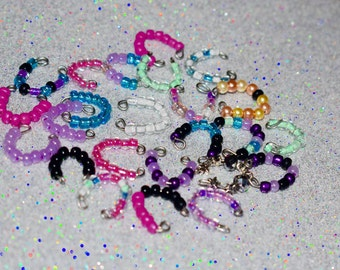 Littlest Pet Shop LPS RANDOM collar necklace lot accessories doll animal