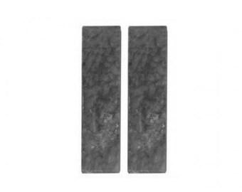 2 loaves Oyumaru black clay oyumaru