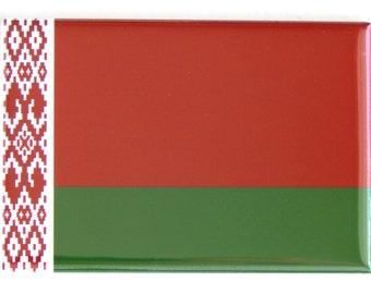 Flag of Belarus Fridge Magnet