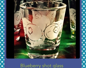 1-Custom Etched Shot Glass