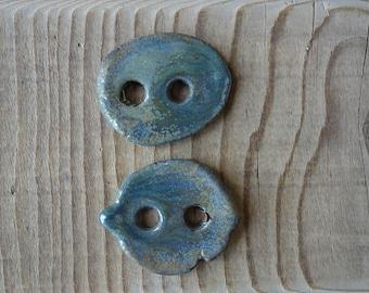 Ceramic buttons handmade
