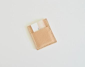 Natural Leather Multi Pocket Wallet