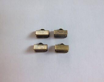 Lace clip bronze 10x5mm