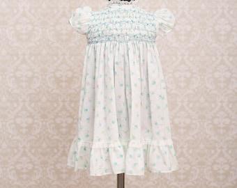 Polly Flinders Girls Hand Smocked Girls Dress