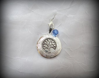 Tree of Life Locket in Silver