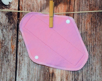 Pick the length - Small/Medium/Large Pad – Pink Sweatshirt - more absorbent