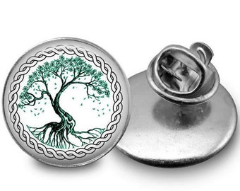 Tree of Life Pin/ Tree of Life/ Lapel Pin/ Brooch/ Tree Pin/ Celtic Pin/ Tree Jewelry/ Tree of Life Jewelry/ Nature Jewelry/ Boho Jewelry