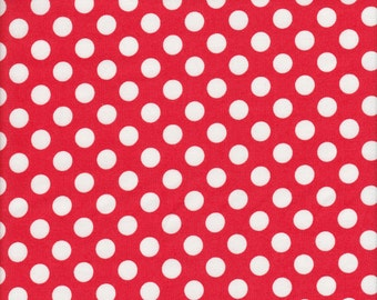 Makower UK Polka Dot in Signal Red - Half Yard