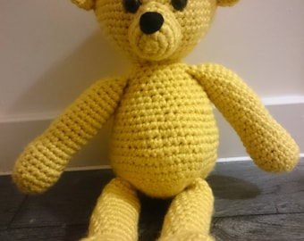 Custom Teddy bear - Large - Amigurumi/Handmade