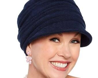 Textured Hannah Newsboy Hat by Cardani Headwear